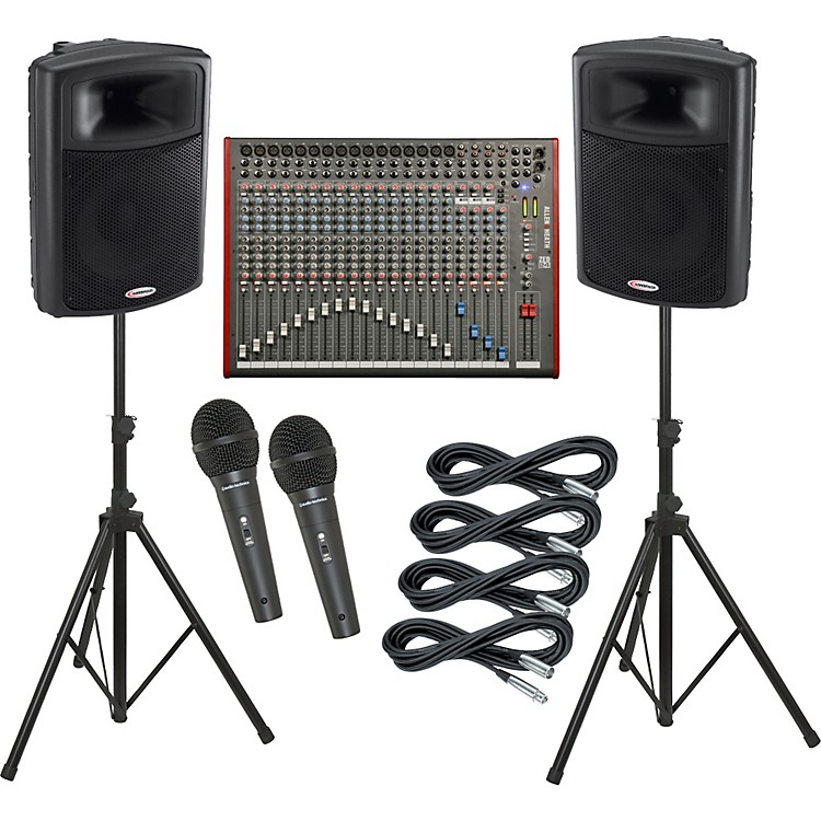 Allen & Heath ZED-24 / Harbinger APS15 PA Package