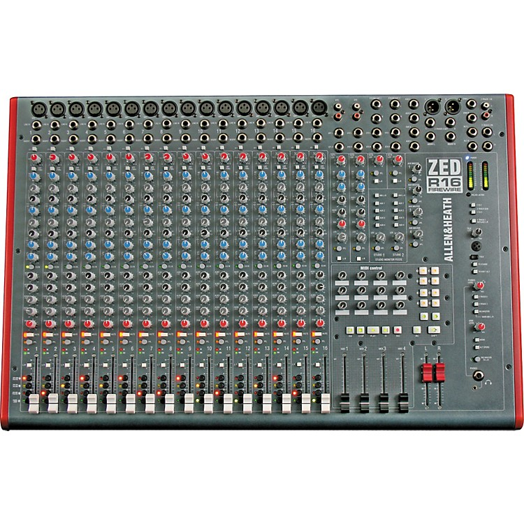 Allen & HeathZED-R16 16-Channel FireWire Mixer