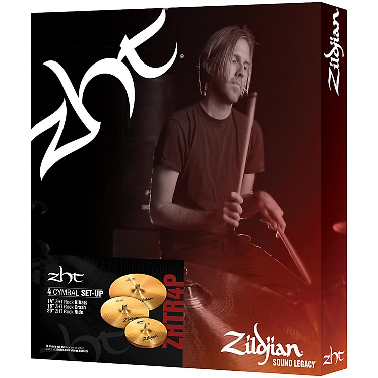 ZildjianZHT Rock 4 Cymbal Pack