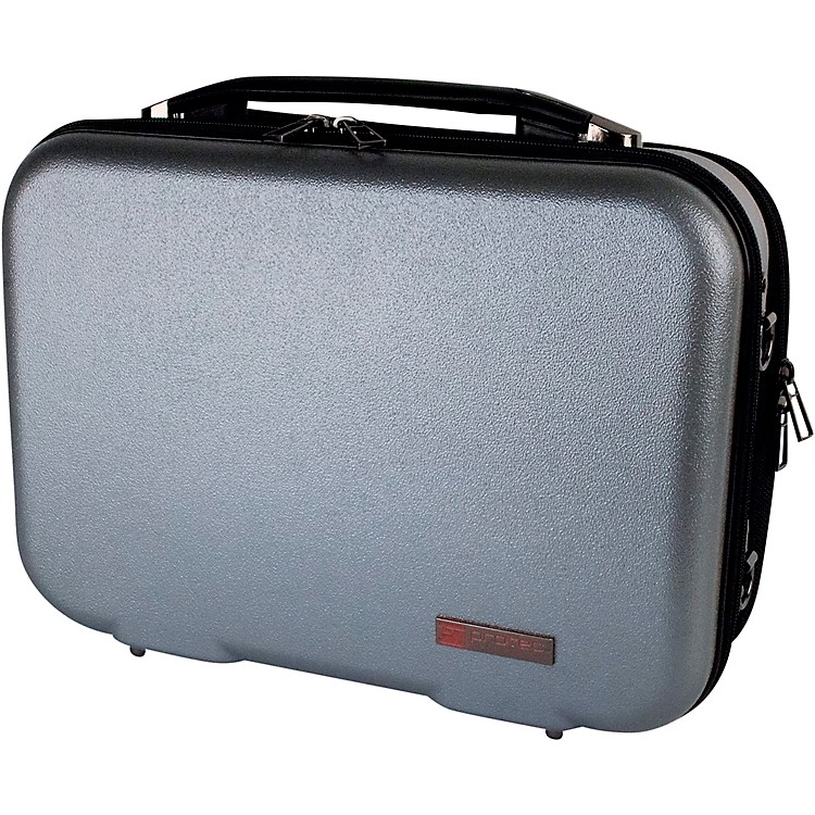 ProtecZIP Clarinet Case with Removable Music Pocket, Silver