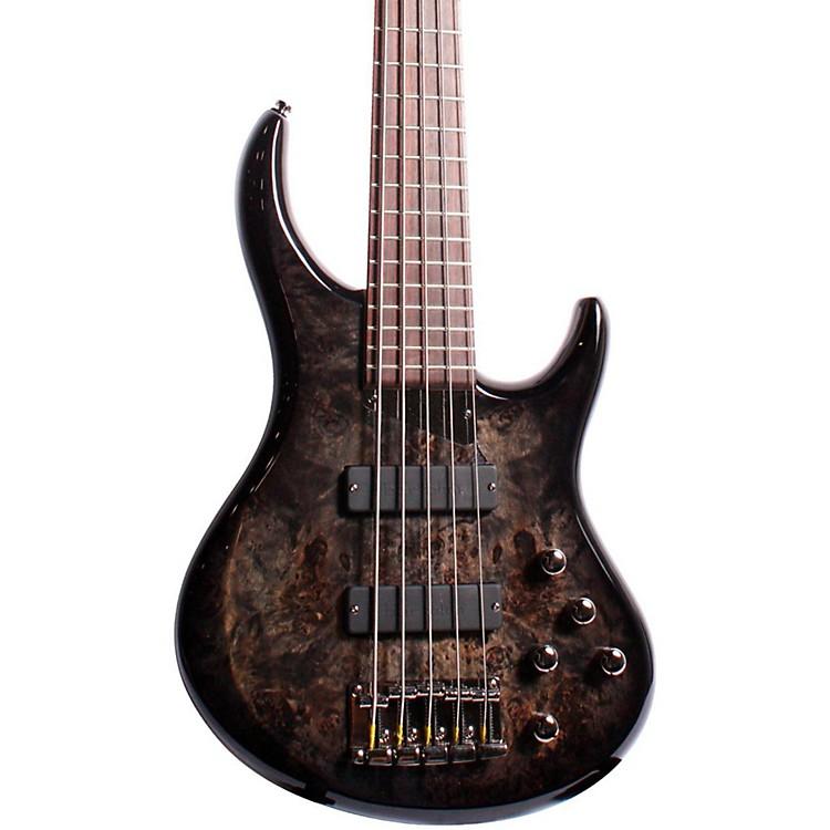 MTDZX 5-String Electric Bass GuitarTransparent BlackRosewood Fretboard