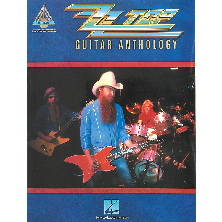 Hal LeonardZZ Top Anthology Guitar Tab Songbook