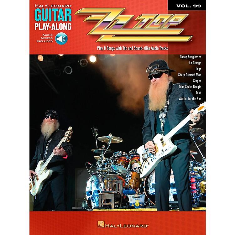 Hal LeonardZZ Top Guitar Play-Along Volume 99 Book/CD