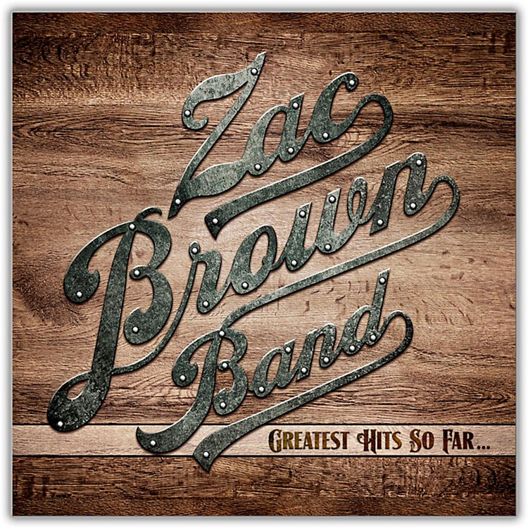 WEAZac Brown Band - Greatest Hits So Far Vinyl LP