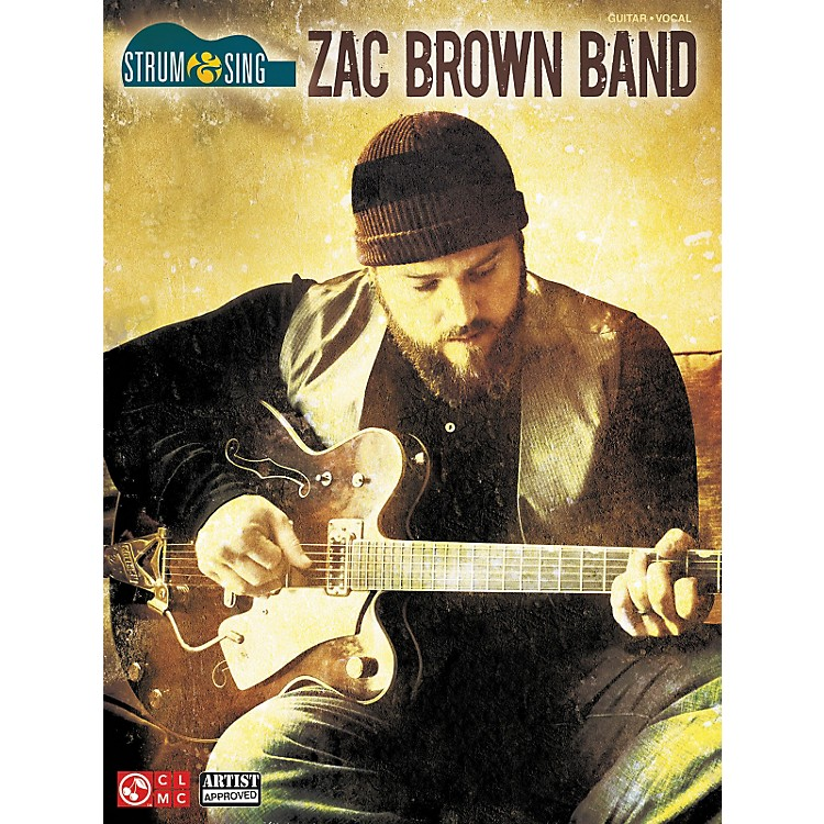 Cherry LaneZac Brown Strum & Sing Easy Guitar Tab
