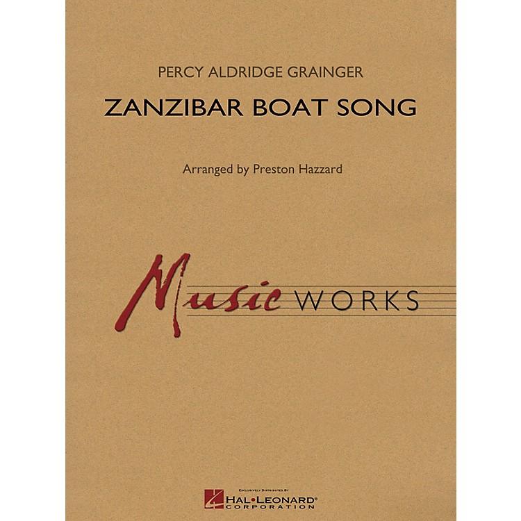 Hal LeonardZanzibar Boat Song Concert Band Level 4 Arranged by Preston Hazzard