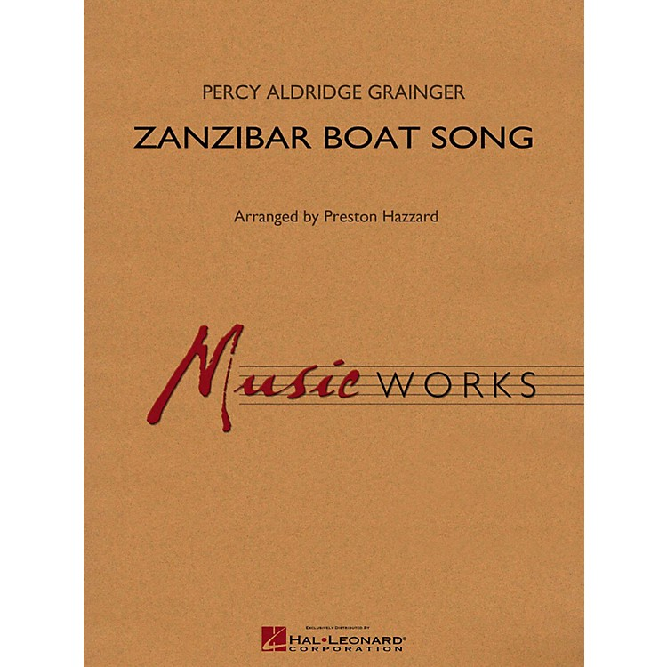 Hal Leonard Zanzibar Boat Song Concert Band Level 4