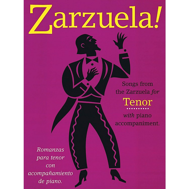 Music Sales Zarzuela! (Tenor) Music Sales America Series  by Various