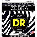 DR StringsZebra Acoustic-Electric Medium Heavy Guitar Strings-thumbnail
