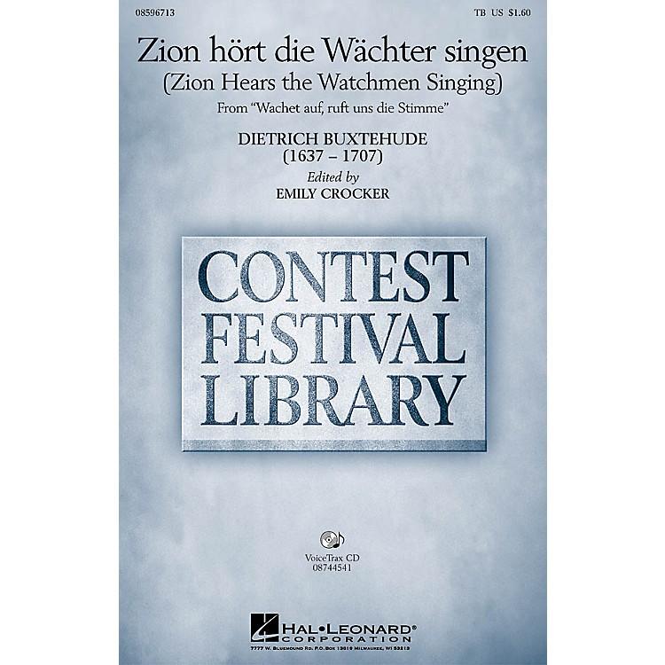 Hal LeonardZion hort die Wachter singen (Zion Hears the Watchmen Singing) TB arranged by Emily Crocker