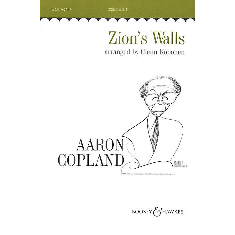 Boosey and HawkesZion's Walls (Revivalist Song) SATB arranged by Glenn Koponen