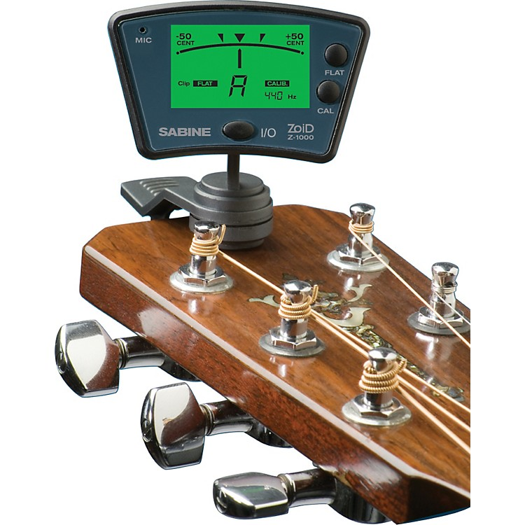 SabineZoid Clip-On Tuner for Stringed Instruments
