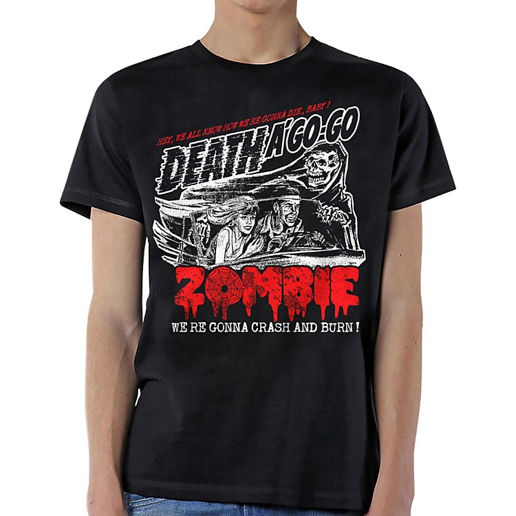 Rob Zombie Zombie Crash T-Shirt X Large Black