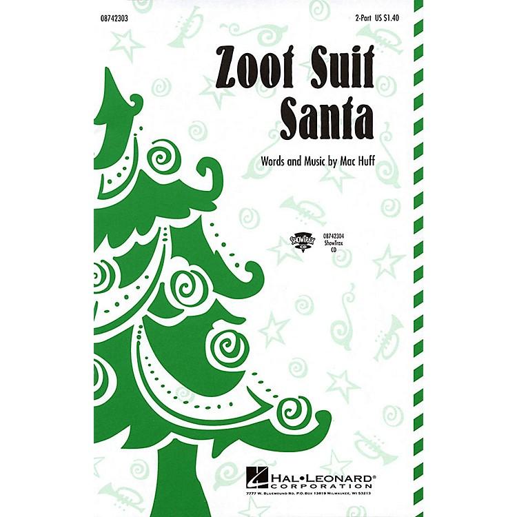 Hal LeonardZoot Suit Santa 2-Part