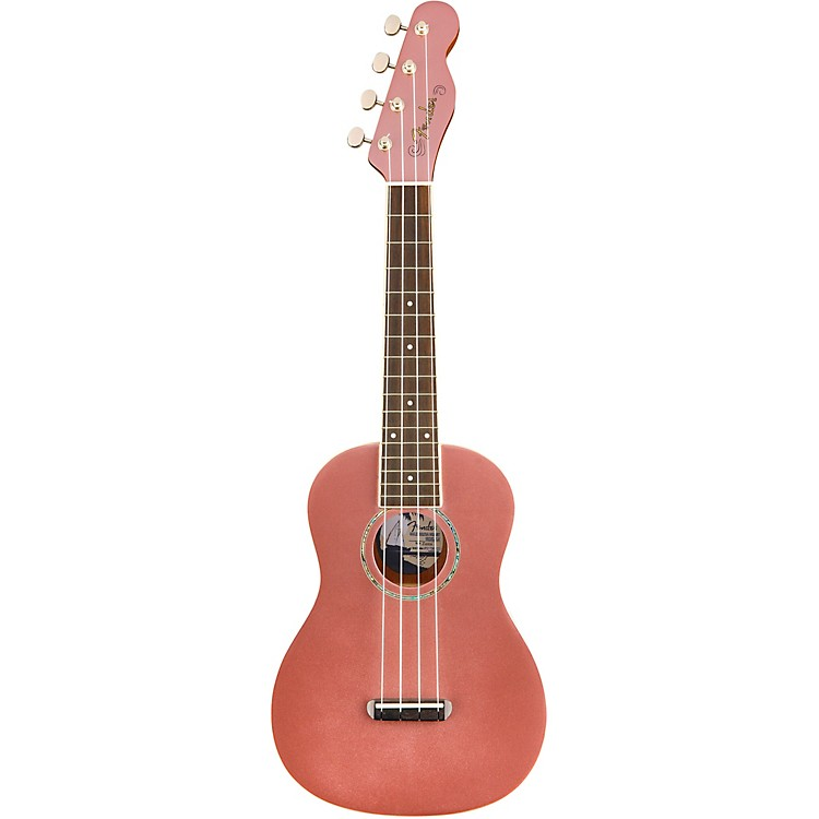 FenderZuma Concert Ukulele Walnut FingerboardCandy Apple Red