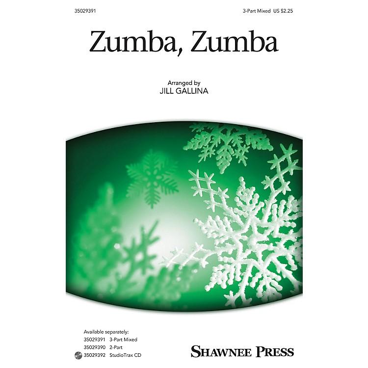Shawnee PressZumba, Zumba (Together We Sing Series) 3-Part Mixed arranged by Jill Gallina