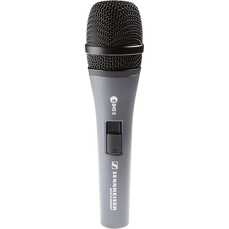 Sennheiser e 845S Pro Performance Vocal Microphone