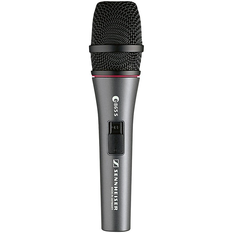 Sennheisere 865S Condenser Vocal Microphone with Switch