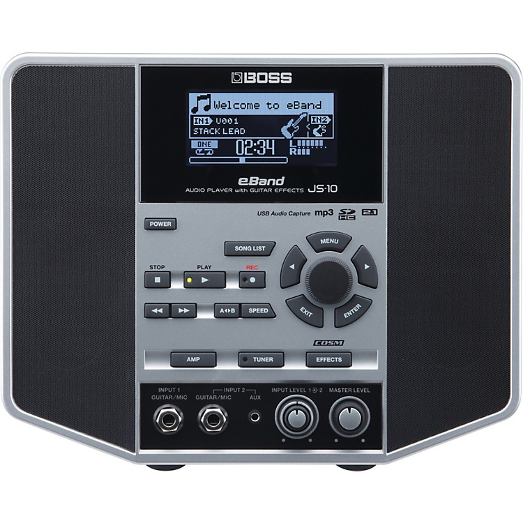 BosseBand JS-10 Audio Player w/ Guitar Effects