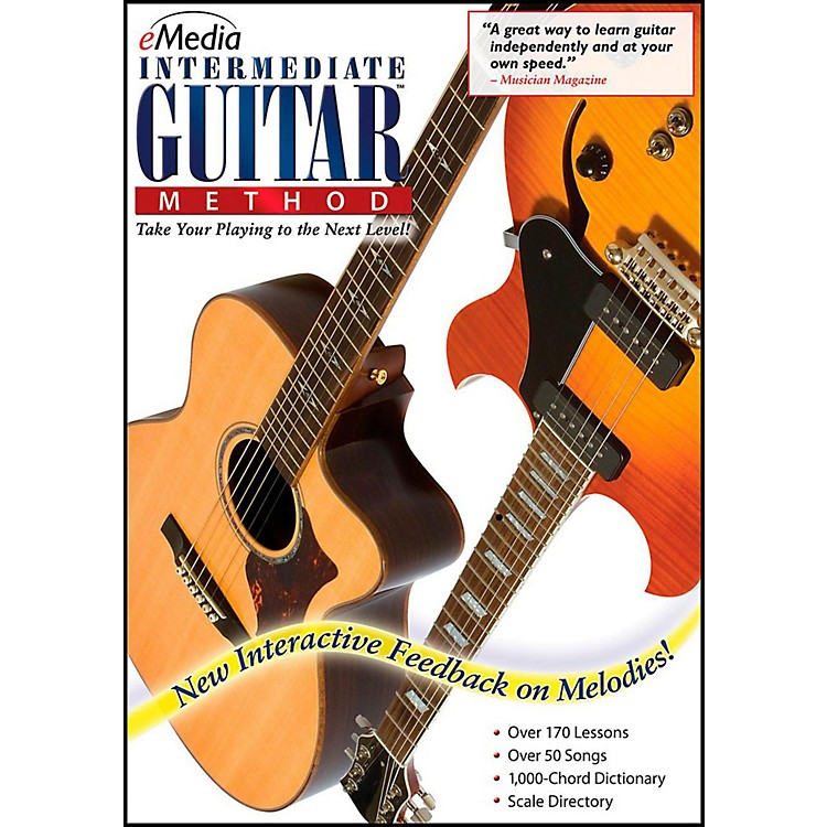 Emedia eMedia Intermediate Guitar Method - Digital Download Windows Version