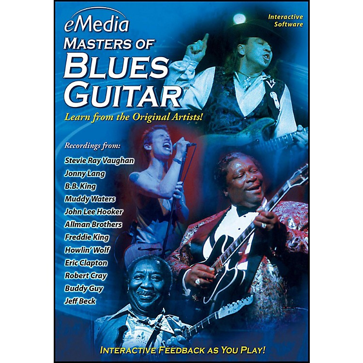 Emedia eMedia Masters of Blues Guitar - Digital Download Windows Version