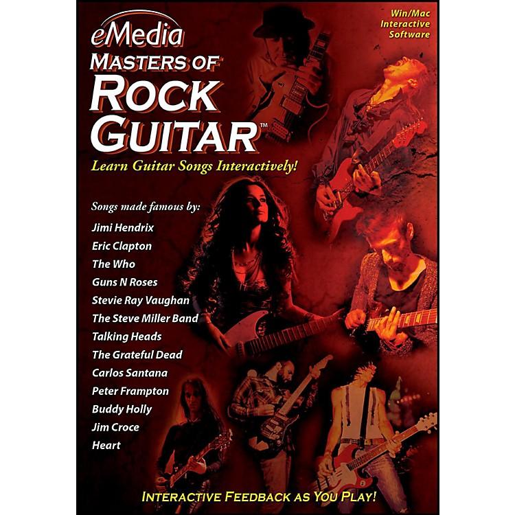 EmediaeMedia Masters of Rock Guitar - Digital DownloadWindows Version