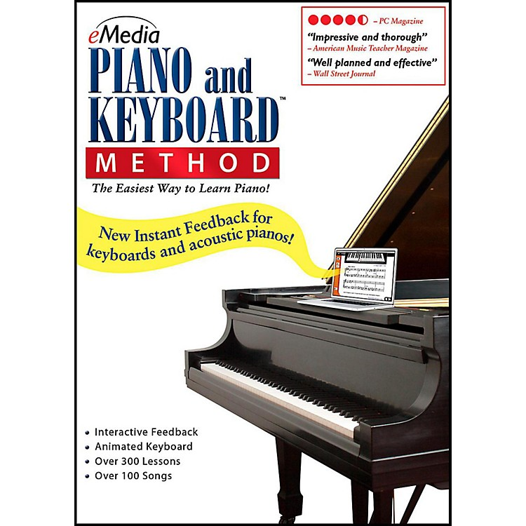 EmediaeMedia Piano & Keyboard Method - Digital DownloadWindows Version