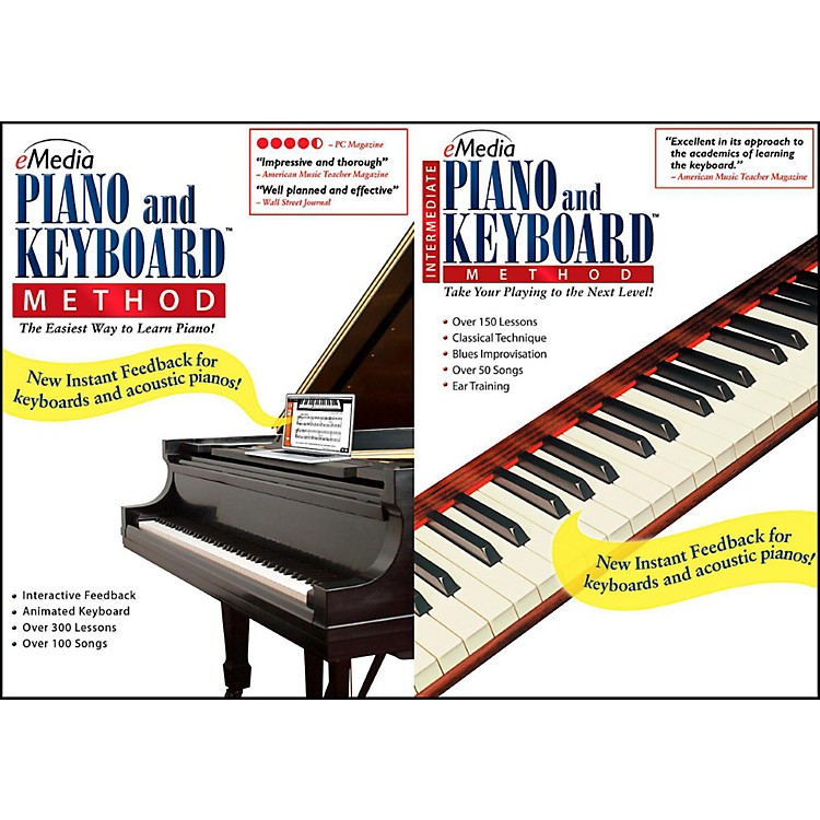 Emedia eMedia Piano & Keyboard Method Deluxe - Digital Download Macintosh Version