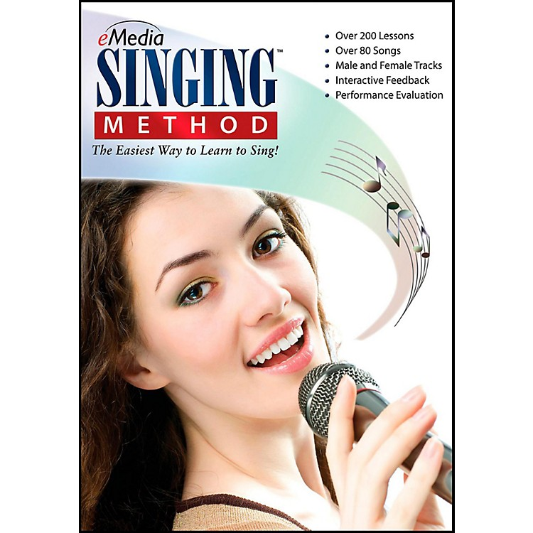 eMedia eMedia Singing Method - Digital Download Windows Version