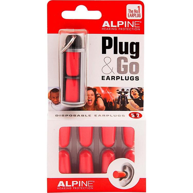 Alpine Hearing Protection(ea) Pack of 10 Foam Earplugs