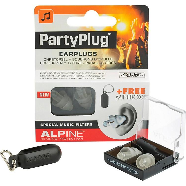 Alpine Hearing Protection(ea) Single-filter Universal Earplugs (Clear)