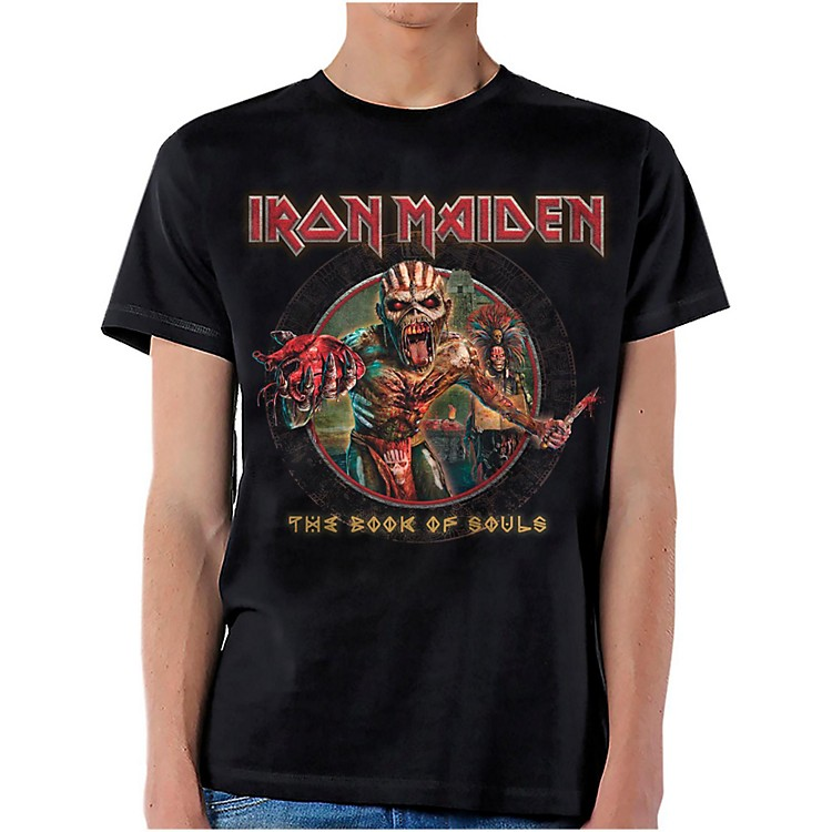 Iron Maiden&nbsp;<em>Book of Souls</em> Eddie T-Shirt&nbsp;Large&nbsp;
