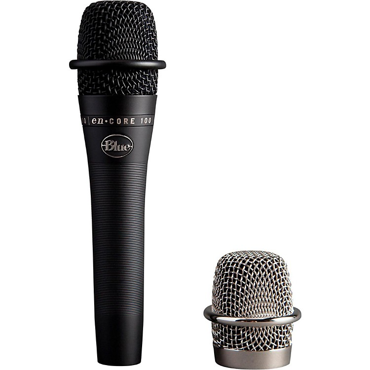 BLUE enCORE 100 Studio Grade Dynamic Microphone Black