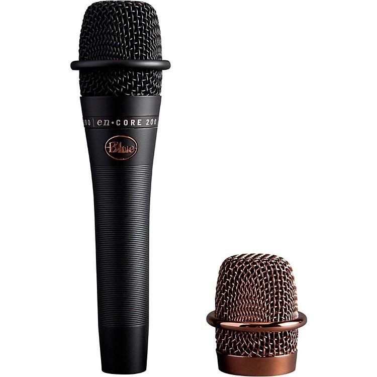 BLUEenCore 200 Studio Grade Phantom Powered Active Dynamic MicrophoneBlack