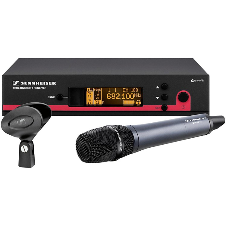 Sennheiser ew 100-935 G3 Cardioid Microphone Wireless System Band G