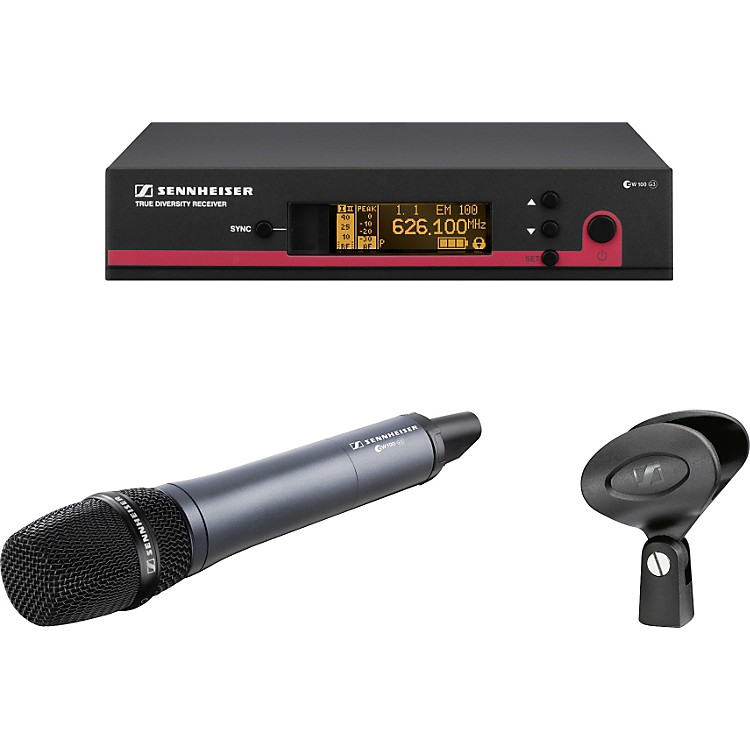 Sennheiser ew 135 G3 Cardioid Microphone Wireless System Band G