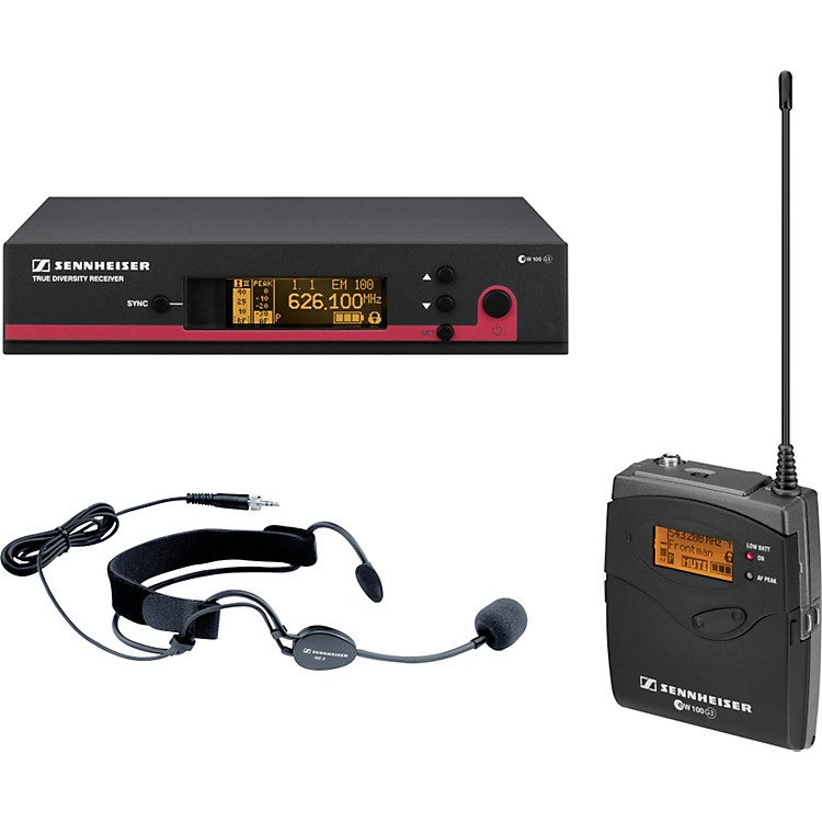 Sennheiser ew 152 G3 Wireless Headset Microphone System Band A 888365102382