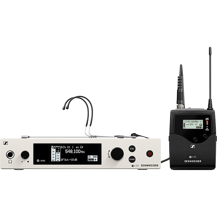 Sennheiserew 300 G4-RC Wireless Headset SystemBand AW+