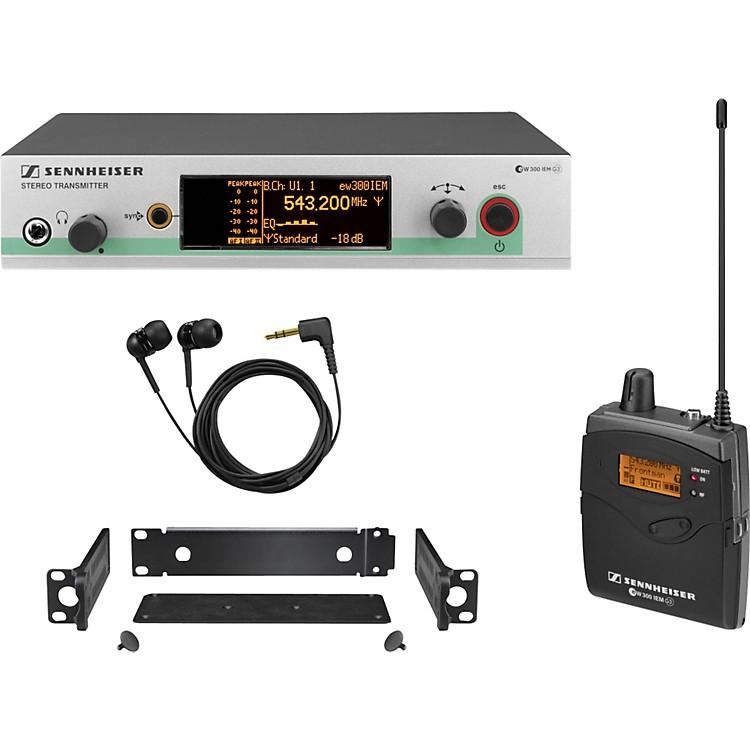 Sennheiserew 300 IEM G3 In-Ear Wireless Monitor SystemBand A