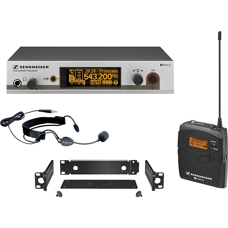 Sennheiserew 352 G3 Headset Wireless SystemBand G