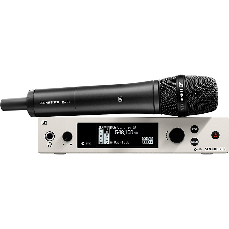 Sennheiser ew 500 G4 Handheld Wireless System with e 965 Capsule Band AW+