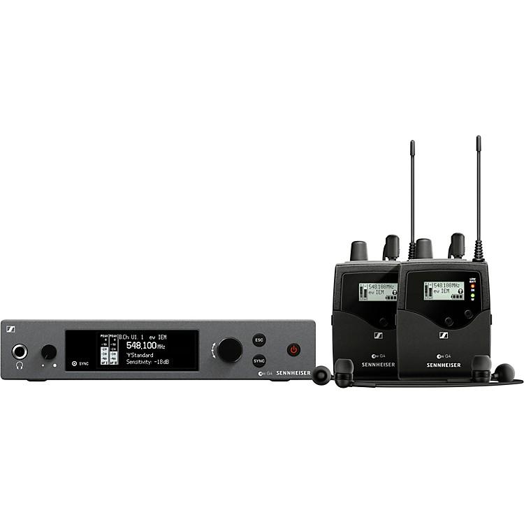 Sennheiserew IEM G4-TWIN Wireless Stereo In-Ear Monitoring SetBand A1