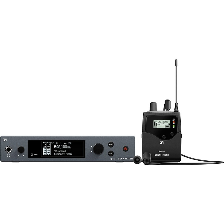 Sennheiserew IEM G4 Wireless Stereo In-Ear Monitoring SetBand A1