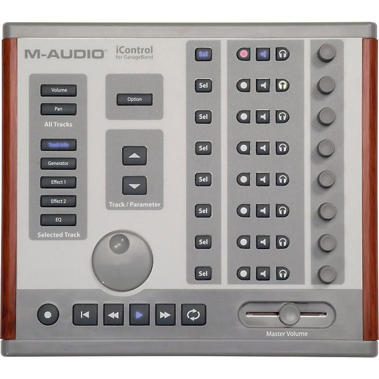 m audio icontrol garageband midi controller music123. Black Bedroom Furniture Sets. Home Design Ideas