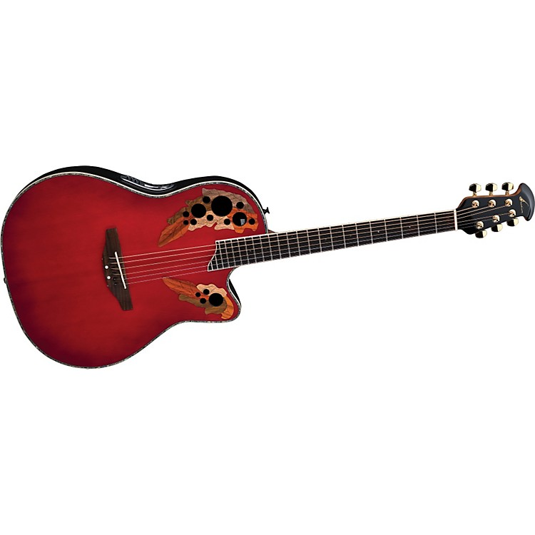Ovation iDea Celebrity Acoustic-Electric Guitar with Built-In MP3 Recorder