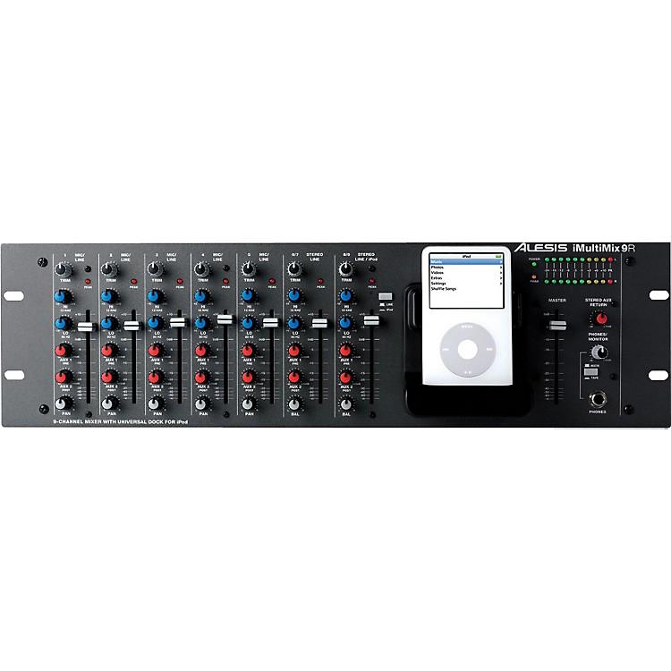 AlesisiMultiMix 9R Rackmount Mixer with iPod Dock