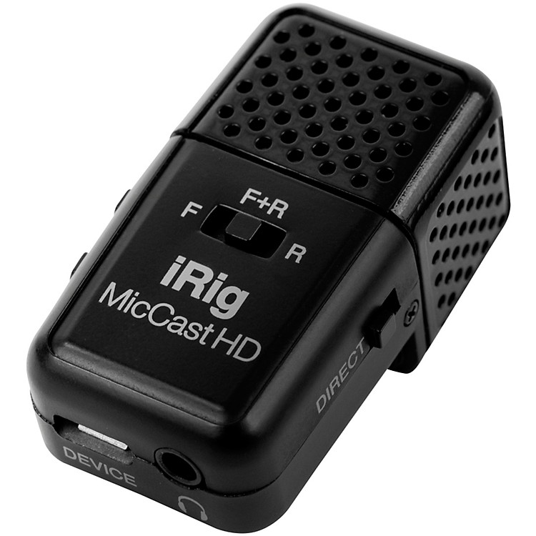 IK MultimediaiRig Mic Cast HD for Mac and Select Android Devices