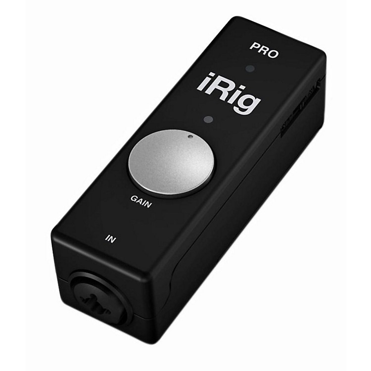 IK MultimediaiRig PRO Audio/MIDI Interface for iOS and Mac
