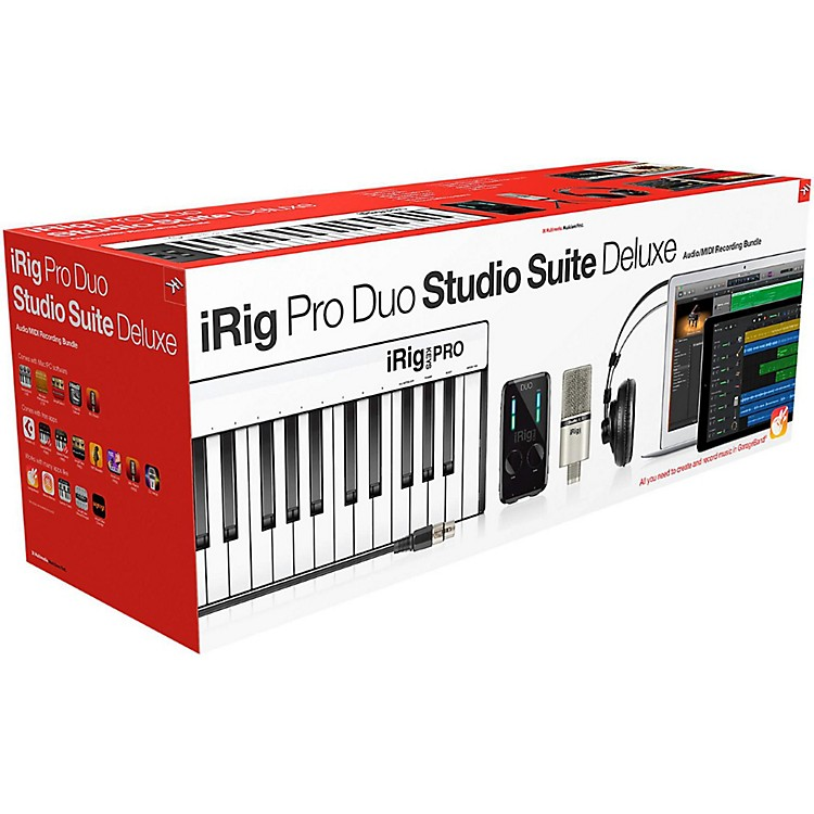 IK MultimediaiRig Pro Duo Studio Suite Deluxe
