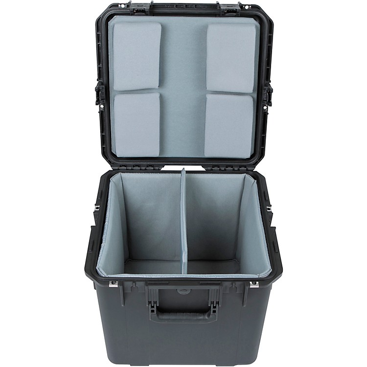 SKBiSeries Dual Snare Case with Padded Interior (3i-1717-16LT)